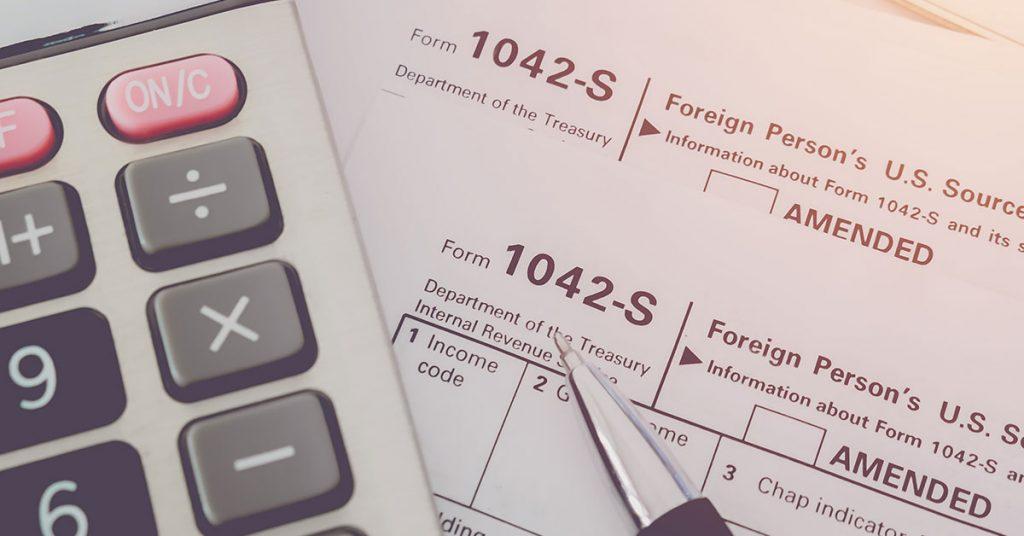 formulaire 1042-S